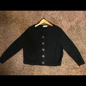Black/gold Calvin Klein sweater